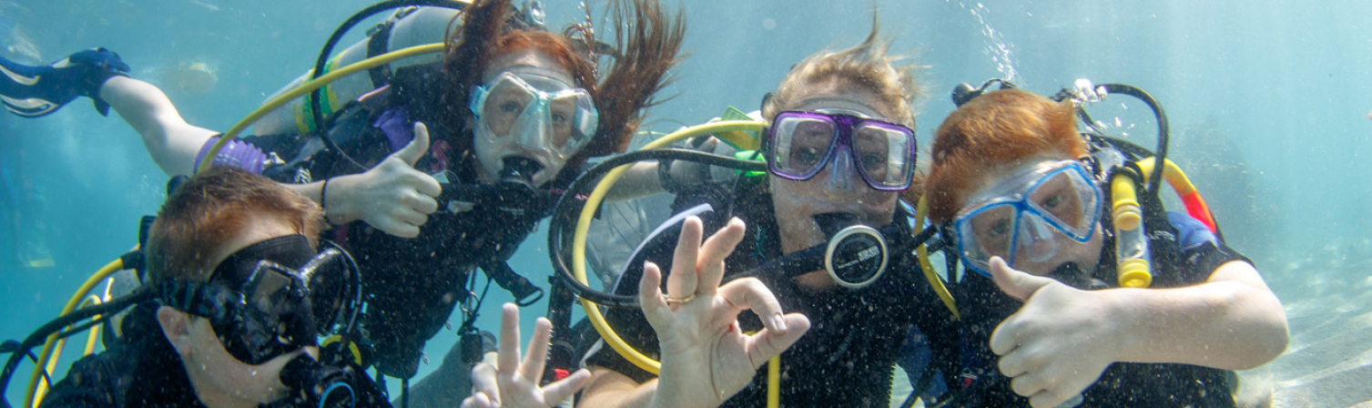 First dive for children between Nice and Monaco