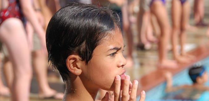 Cours de natation pour enfant peur de l'eau